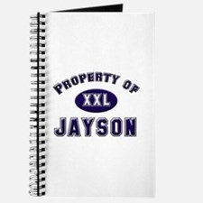 Property of jayson Journal