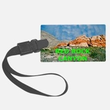Red Rock Canyon Aluminum License Luggage Tag