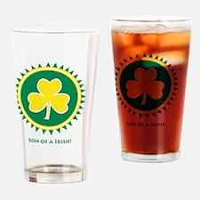 SonoftheIrish Drinking Glass