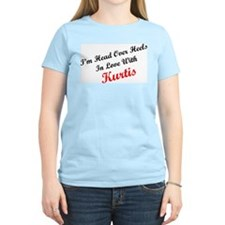 In Love with Kurtis Women's Pink T-Shirt