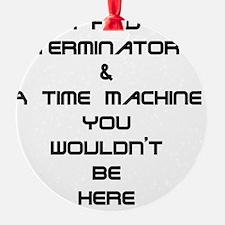 Terminator Ornament