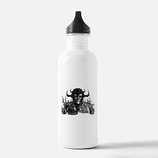 Grim Reaper Skull Head Water Bottle