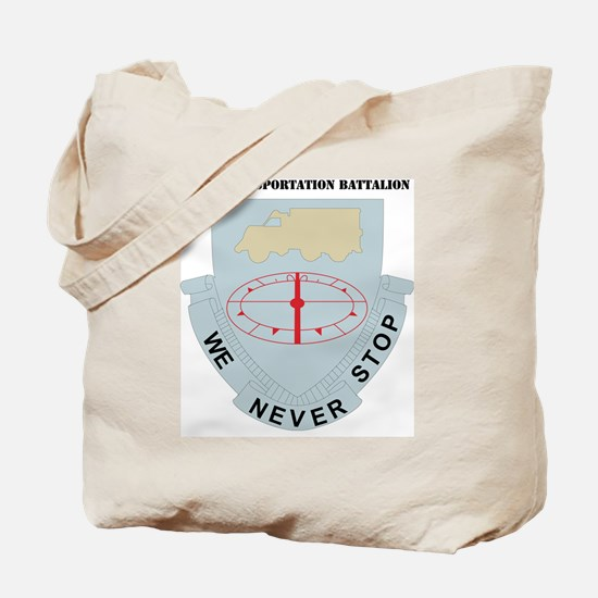 DUI-49TH TRANSPORTAION WITH TEXT Tote Bag