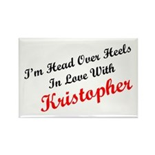 In Love with Kristopher Rectangle Magnet