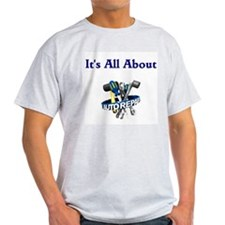 It's All About Auto Repair Ash Grey T-Shirt