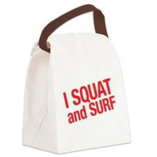 SQUATWH Canvas Lunch Bag