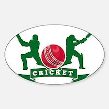 cricket batsman silhouette batting  Stickers