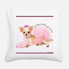 Princess Square Canvas Pillow