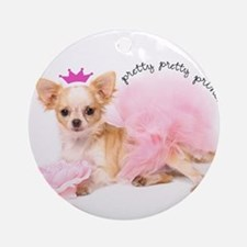 Princess Round Ornament