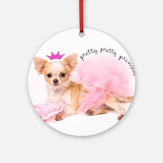 Princess Round Ornament
