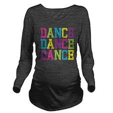 Dance3 Long Sleeve Maternity T-Shirt