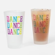 Dance3 Drinking Glass