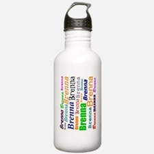 brenna-all-over-90ccw Water Bottle