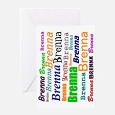 brenna-all-over-90ccw Greeting Card