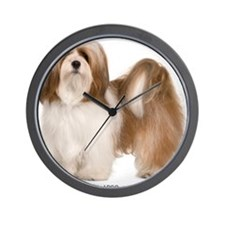 lhasa-apso311 Wall Clock