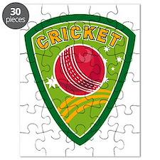 cricket sports ball shield stars Puzzle