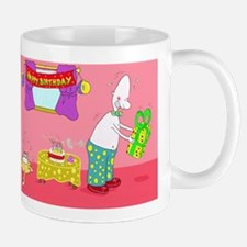 Happy Buffday Small Small Mug