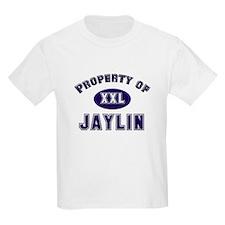 Property of jaylin Kids T-Shirt
