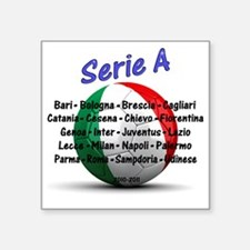 """seriea1 Square Sticker 3"""" x 3"""""""