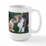 New Collie Buds Large Mug