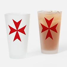 maltaplain2 Drinking Glass