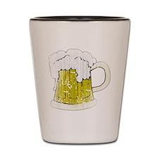 Vintage Beer Mug Shot Glass