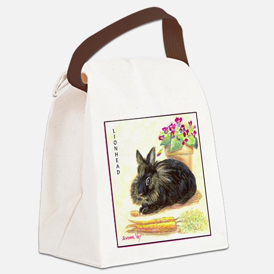 burgess_tile Canvas Lunch Bag