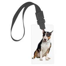 bull-terrier Luggage Tag