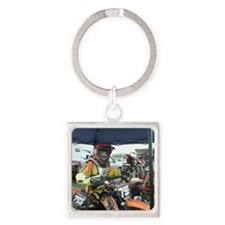 Milan__Races__6-11-10_020 Square Keychain