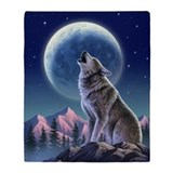 Animals and wildlife wolf Blankets