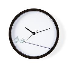 365 lax bro stick_white Wall Clock