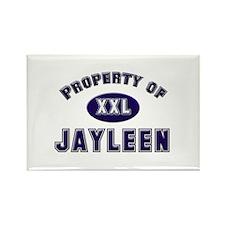 Property of jayleen Rectangle Magnet