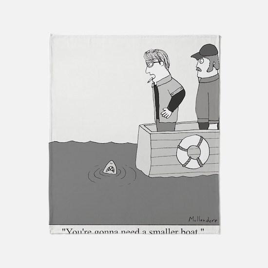 Smaller Boat Throw Blanket