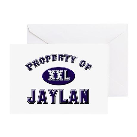 Property of jaylan Greeting Cards (Pk of 10)