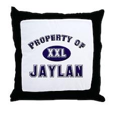 Property of jaylan Throw Pillow