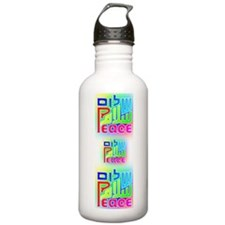 PeaceGaiamYogaMat Water Bottle