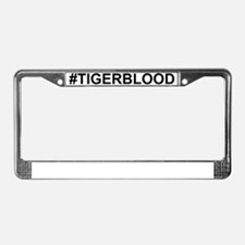 tigerblood.gif License Plate Frame