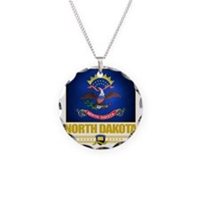 North Dakota (Flag 10) Necklace