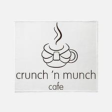 crunch3 Throw Blanket