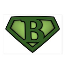 Super green b Postcards (Package of 8)