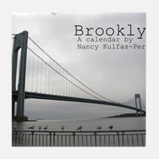 brooklyn cover Tile Coaster