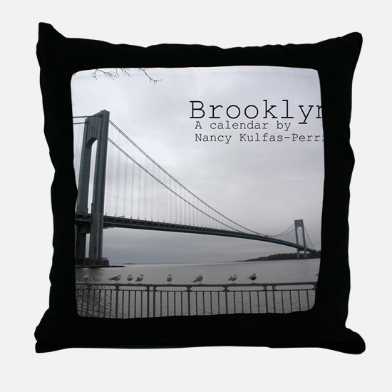 brooklyn cover Throw Pillow