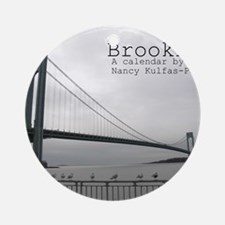 brooklyn cover Round Ornament
