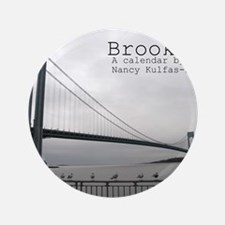 """brooklyn cover 3.5"""" Button"""