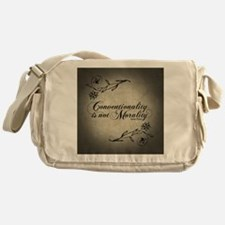 conventionality-is-not-morality_b Messenger Bag