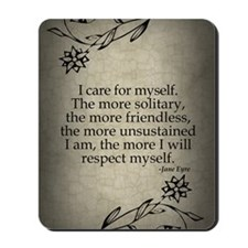 i-care-for-myself_j Mousepad