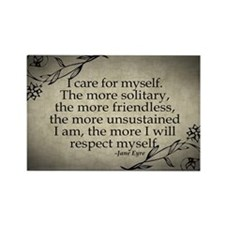 i-care-for-myself_12x18 Rectangle Magnet