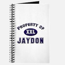 Property of jaydon Journal