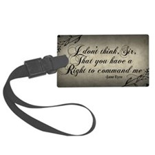 right-to-command-me_9x18 Luggage Tag