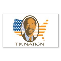 TK Nation Rectangle Decal